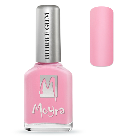 MOYRA BUBBLE GUM EFFECT KÖRÖMLAKK 625 Love Love 12 ml