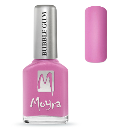 MOYRA BUBBLE GUM EFFECT KÖRÖMLAKK 626 Tutti Frutti12 ml