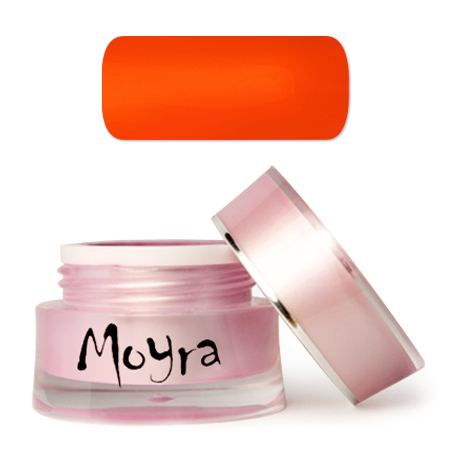 FIXÁLÁSMENTES MOYRA SUPERSHINE SZÍNES ZSELÉ No.569 Vivid Orange 5 g