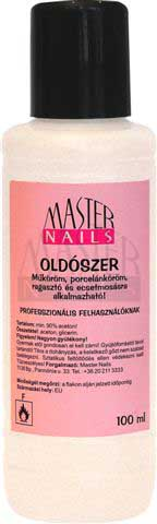 MASTER NAILS oldószer 100ml