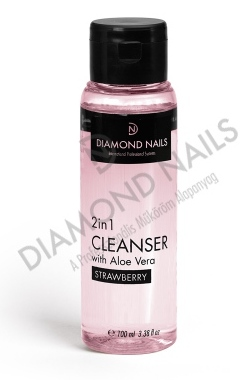 Diamond Nails 2IN1 GÉL FIXÁLÓ 100ML - ALOE VERA KIVONATTAL - EPER