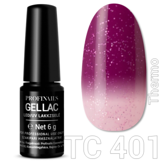 Profinails Gel Lac LED/UV lakkzselé 6gr No.401 (TC series)