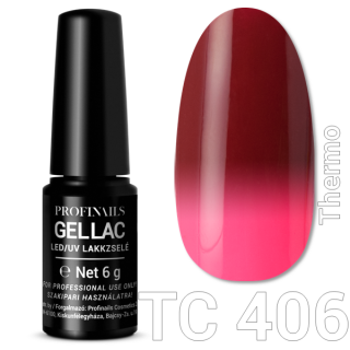 Profinails Gel Lac LED/UV lakkzselé 6gr No.406 (TC series)