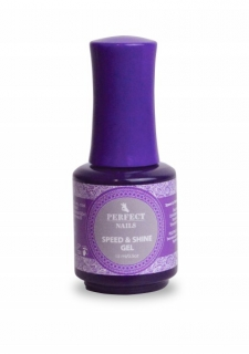 Perfect Nails Speed&Shine fényzselé 15 ml